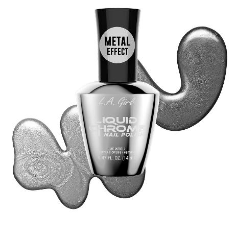Brushed Nickle - Liquid Chrome Nail Polish