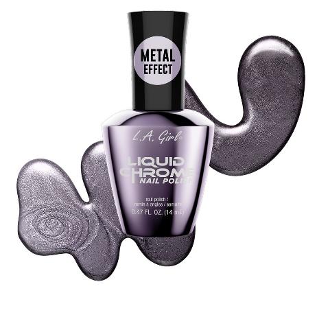 Lacquered Lavender - Liquid Chrome Nail Polish