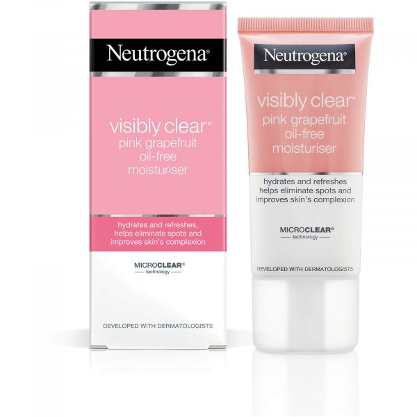 Neutrogena Pink moisturiser