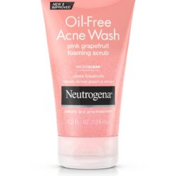 neutrogena oil free acne wash grape