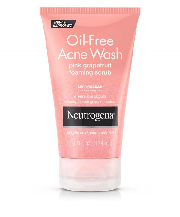 neutrogena oil free acne wash grape
